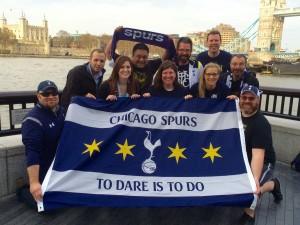 Chicago Spurs invading London.