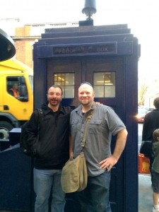 Rick and Scott found a Tardis on the streets of London.