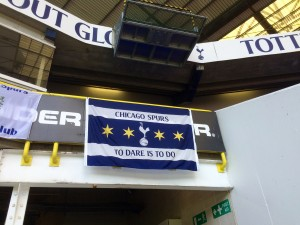 Chicago Spurs did London, and left its mark on White Hart Lane.