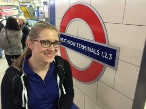 Ann has arrived, London beware.