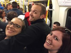 Ann, Kevin and Katherine enjoying the tube.