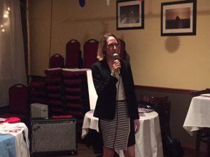 CAWC's Associate Director Jessica Hoey